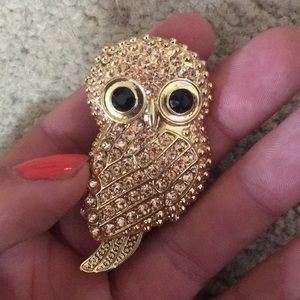 Other - Golden owl pin